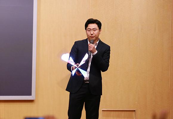 Dseelab的創始人兼CEO周全做主旨演講