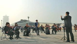 西安年·最中國:鐵軍守歲 奏響新年歌