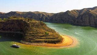 """【""""疫""""後花開 邁向詩和遠方】黃河大峽谷·老牛灣旅遊區:文化與景色相融合"""