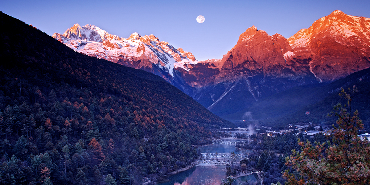 玉龍雪山:一山分四季 十裏不同天