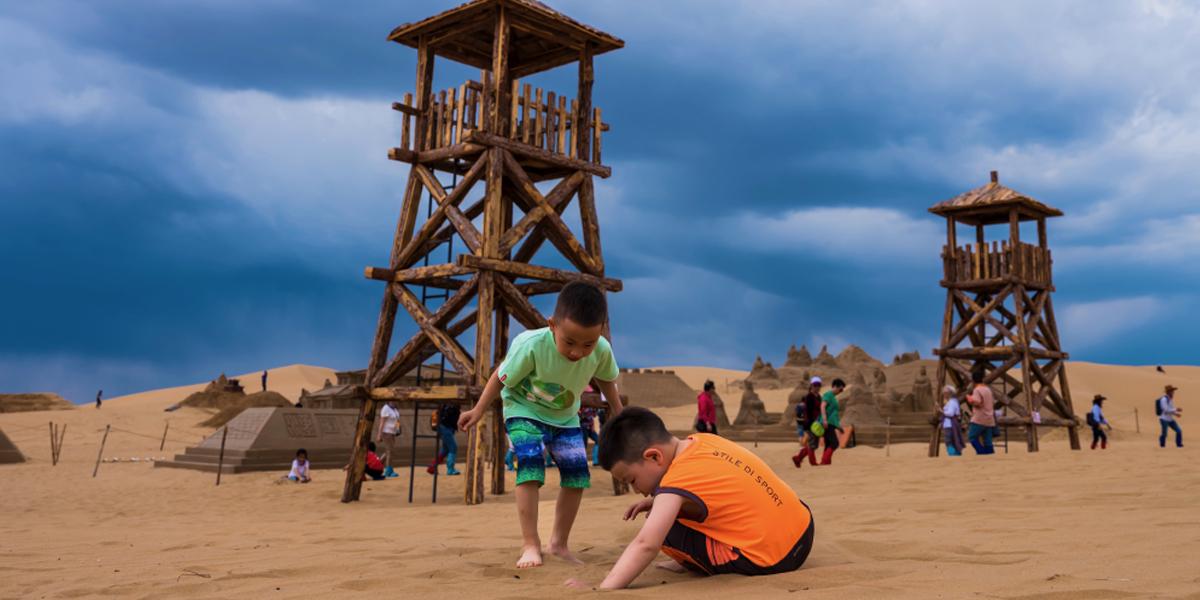 """響沙灣:這裏的沙子會""""唱歌"""""""