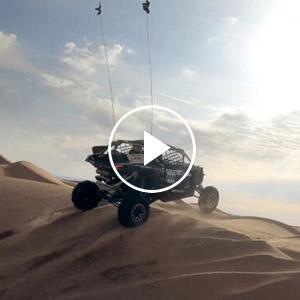 沙漠激情過山車 風馳電掣敞豪情