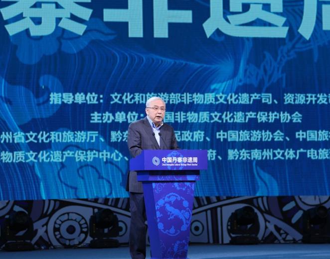 世界旅遊聯盟主席、中國旅遊協會會長段強致辭