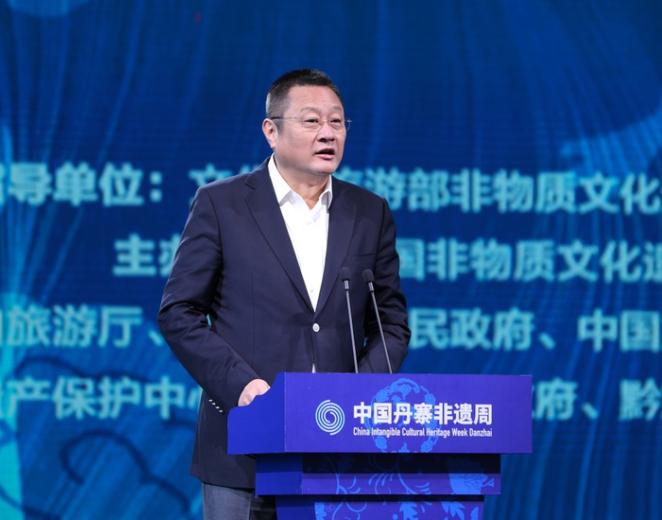 中國旅遊景區協會會長姚軍致辭