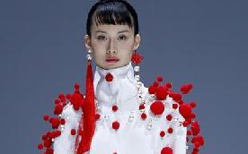 陜西服裝工程學院在京舉行時裝發布會