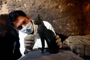 埃及塞加拉古墓群新發現7座法老墓葬