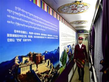 春运期间道上的藏族姊妹