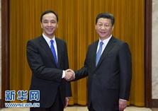 習近平總書記會見中國國民黨主席朱立倫   談了啥   中臺辦解讀