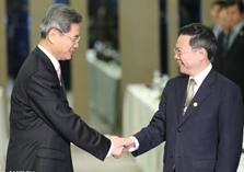 """第二次""""張王會"""":一步跨越65年 兩岸關係開新局"""