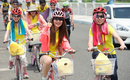 兩岸青年騎行活動在廈門舉行