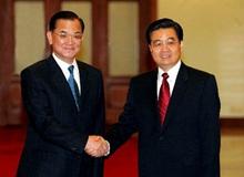 """2005年""""胡連會"""":開創兩岸關係和平發展新局"""