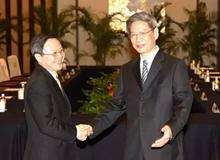 2014年兩岸事務主管部門負責人正式會面:兩岸關係再獲突破