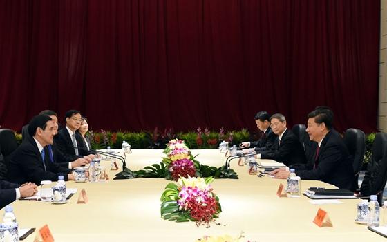 兩岸領導人會面在新加坡舉行