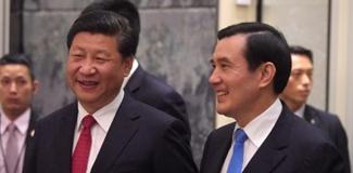 """兩岸領導人會面致辭""""心有靈犀"""""""