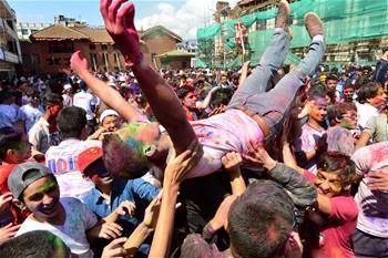 加德滿都:歡慶灑紅節