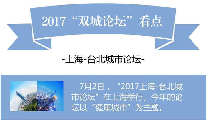 """圖解:2017""""雙城論壇""""看點"""