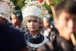 貴州丹寨:吃新節 展盛裝