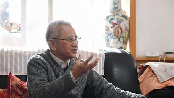 白了少年頭的半世紀回鄉路——訪臺盟中央原副主席田富達