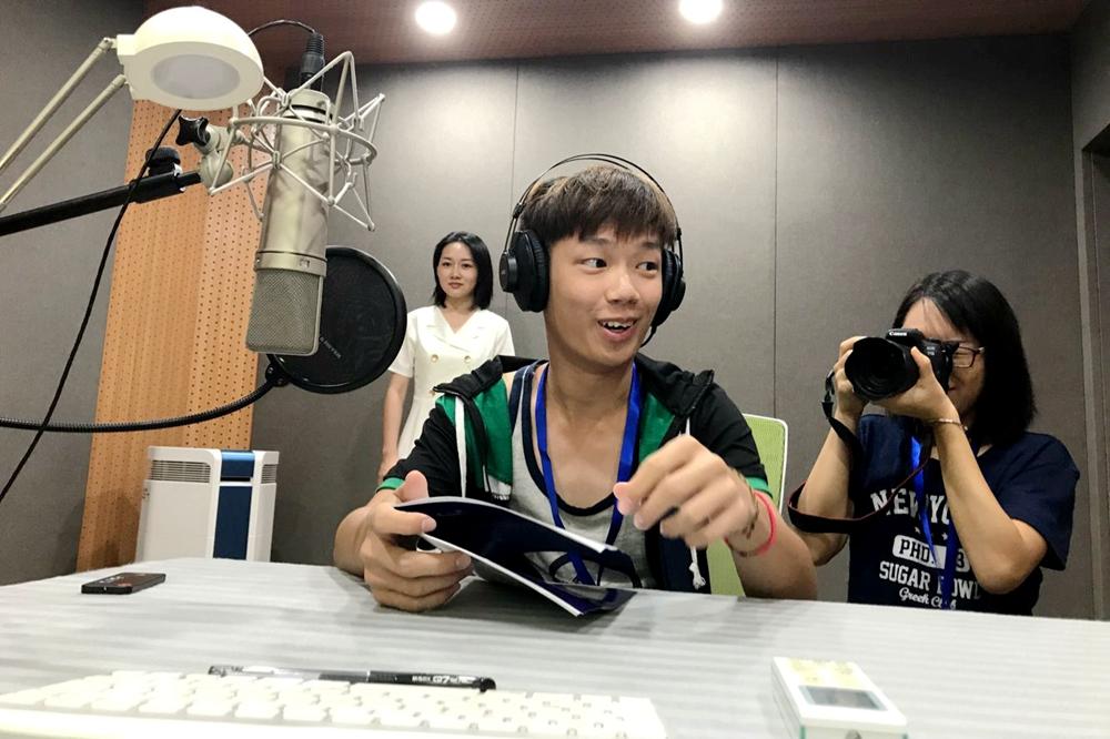 夢想離不開創意 臺灣青年走進新華網媒體創意工場