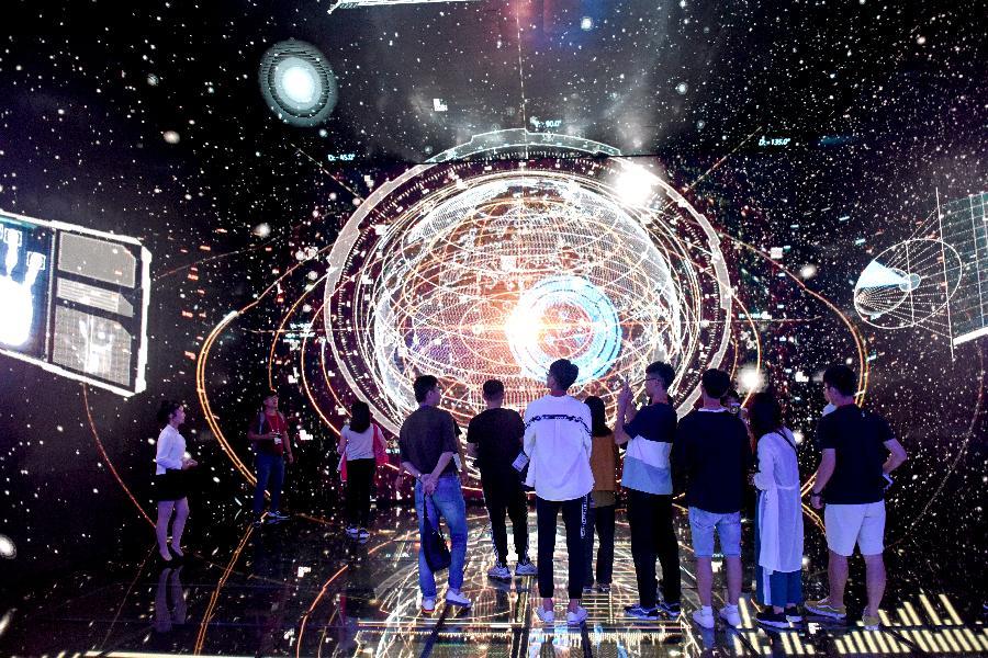 安徽淮南:臺灣學子體驗智慧城市