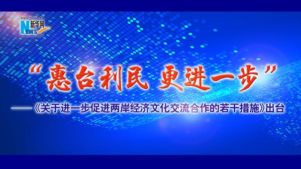 《關于進一步促進兩岸經濟文化交流合作的若幹措施》出臺