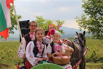 保加利亚庆祝玫瑰节