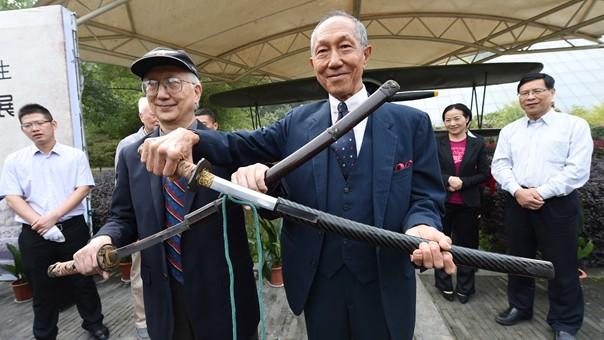 南京抗日航空烈士紀念館獲贈日軍投降臺灣獻降軍刀