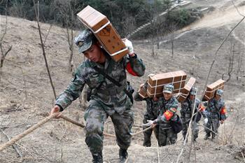 直擊中越邊境掃雷行動