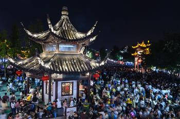 江蘇南京:夜遊夫子廟