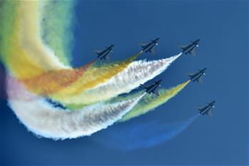 中國空軍飛行表演異彩紛呈