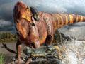 鼻王龍骨骼化石被發現 或用鼻子勾引異性