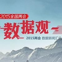 """2015全國兩會""""數據觀""""專欄"""