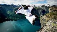 全景觀看世界低空跳傘大賽