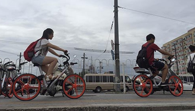 公共自行車 如何讓交通更順暢