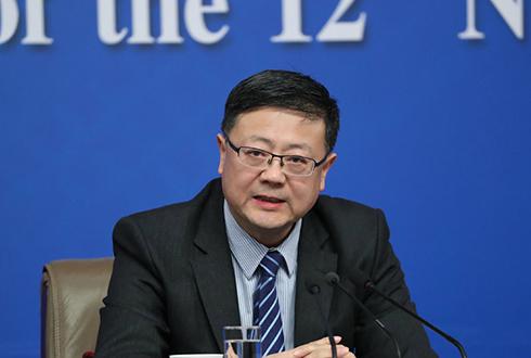 環保部部長陳吉寧答記者問