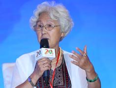 健康教育促进研究中心顾问孙树侠在高峰对话发言