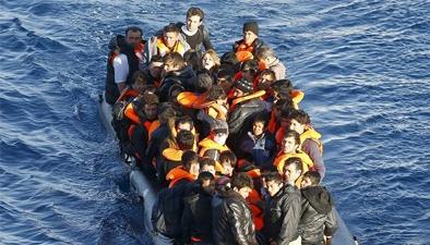 希腊:难民抵达海岛人数剧增 状况堪忧