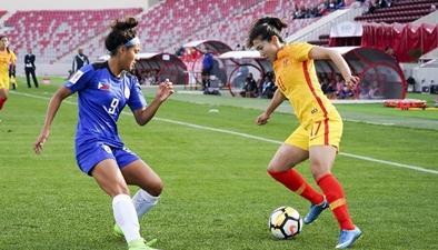 中国队3:0完胜菲律宾队