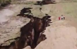 东非现巨大裂谷