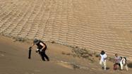 """在""""死亡之海""""庫布齊沙漠見證沙海變綠洲"""