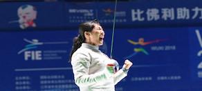 女佩、男花世錦賽冠軍産生 中國兩名女將闖進八強