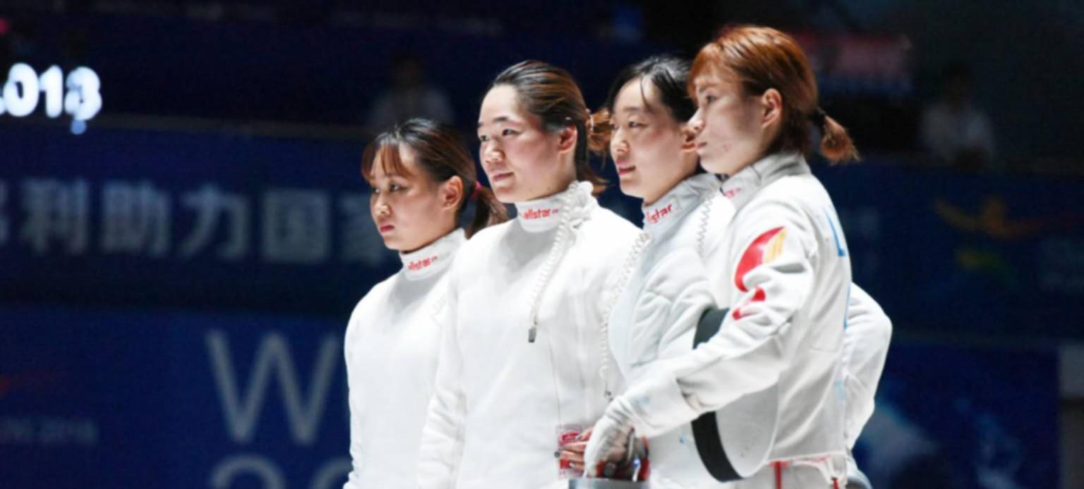 擊劍世錦賽中國女重獲團體銅牌