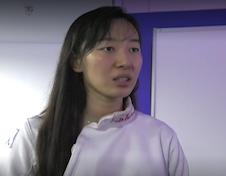 團體賽銅牌中國隊選手孫一文