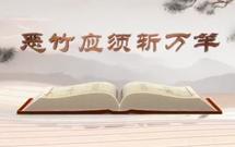 """《平""""語""""近人——習近平總書記用典》(第九集)惡竹應須斬萬竿"""