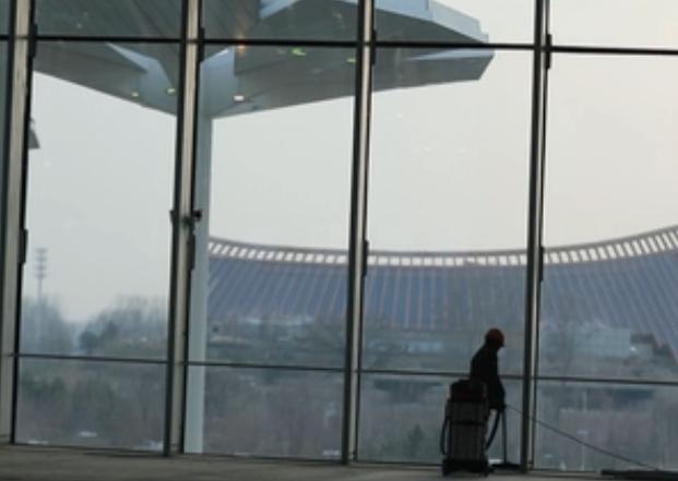 """""""鋼鐵花海""""——北京世園會國際館"""