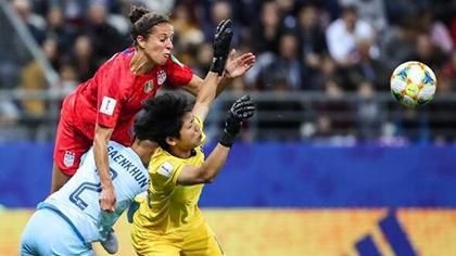 女足世界杯精彩瞬間