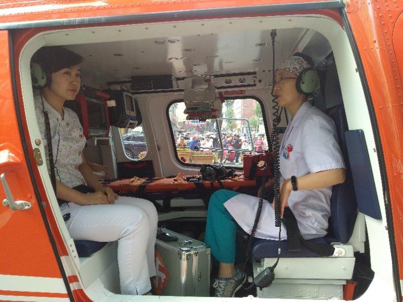 """長春市兒童醫院開通""""空中120""""救援危重患兒"""