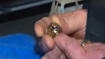丟失60年的戒指失而復得