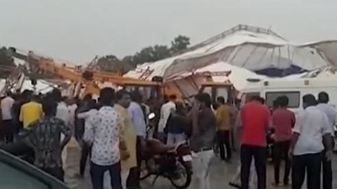 印度拉賈斯坦邦一板房倒塌 14人死亡