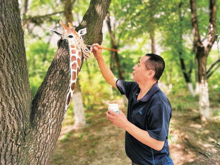 """快瞧!長春一公園樹上住著一群""""小動物"""""""